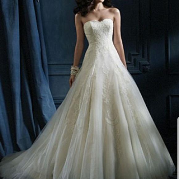 Alfred Angelo Dresses Sapphire Wedding Dress 867 Poshmark